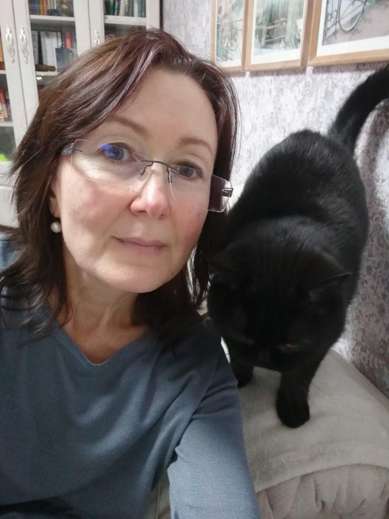 Я и моя кошка Шейла